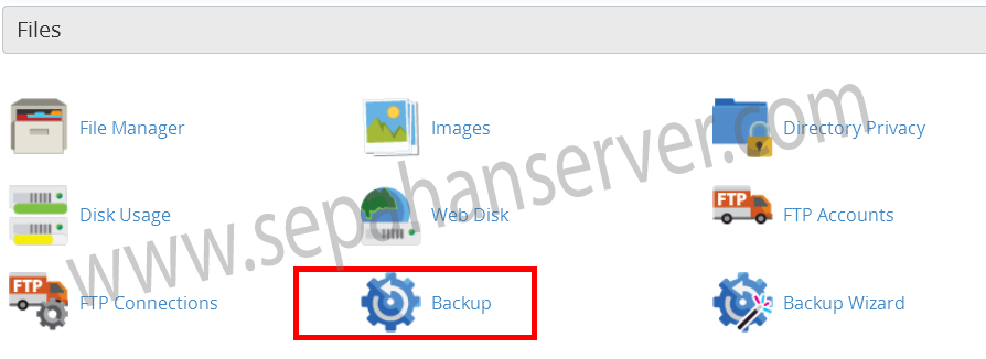 Backup Transfer via Remote FTP in cPanel
